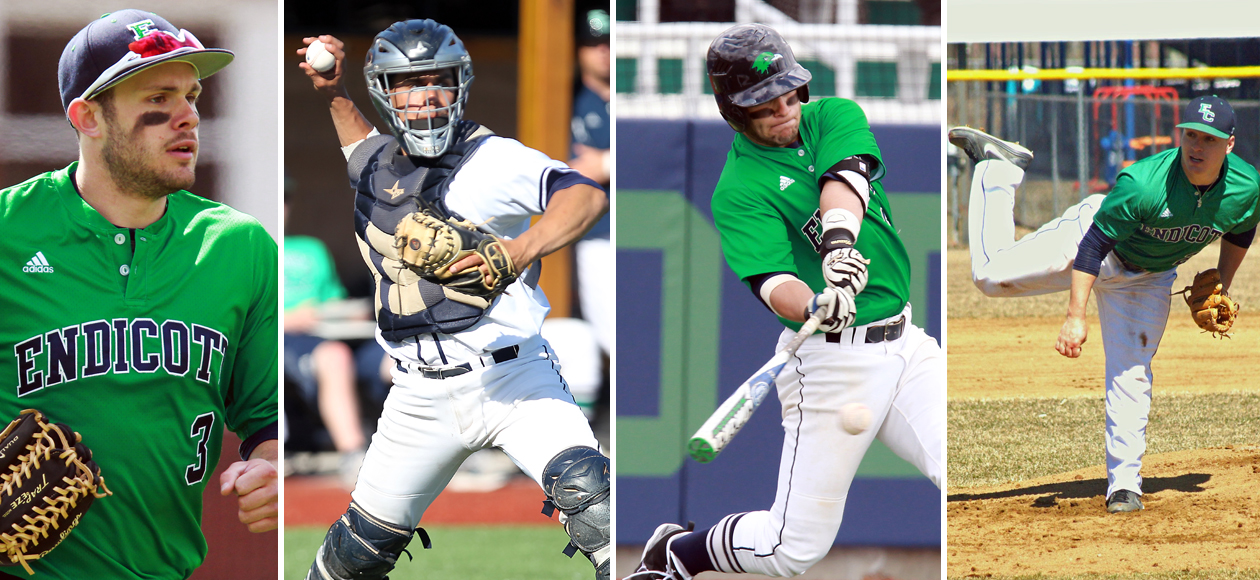 D3Baseball.com Player of the Year Gold Headlines Four All-New England Winners