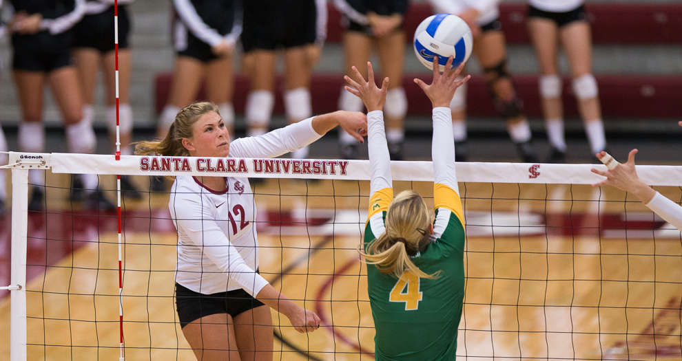 Volleyball Falls In Five To USF