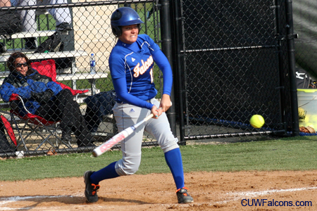 Softball splits doubleheader with Benedictine