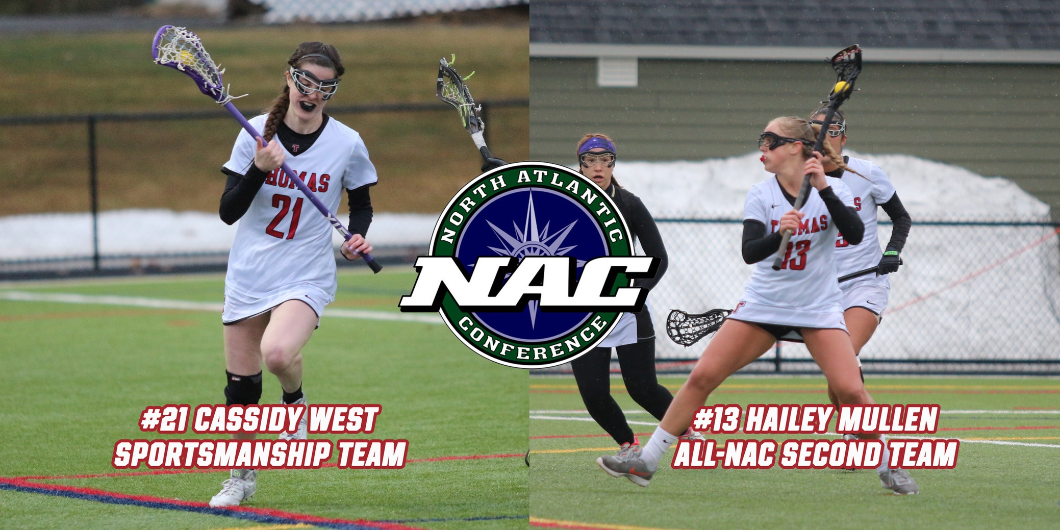 Mullen and West Earn NAC Honors