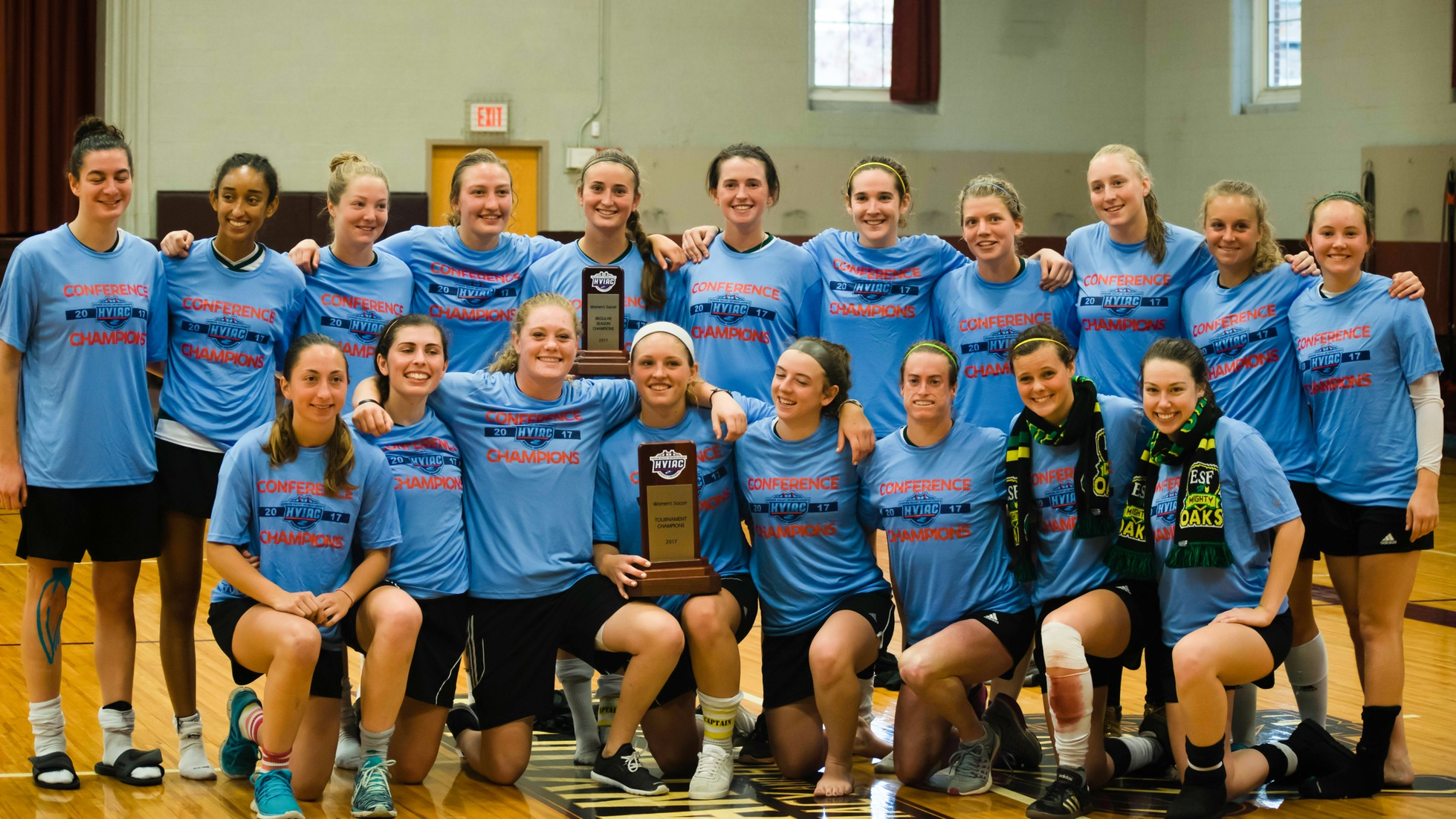SUNY ESF Defends Women's Soccer Title