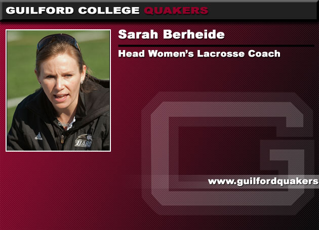 Sarah Berheide Named Head Women's Lacrosse Coach