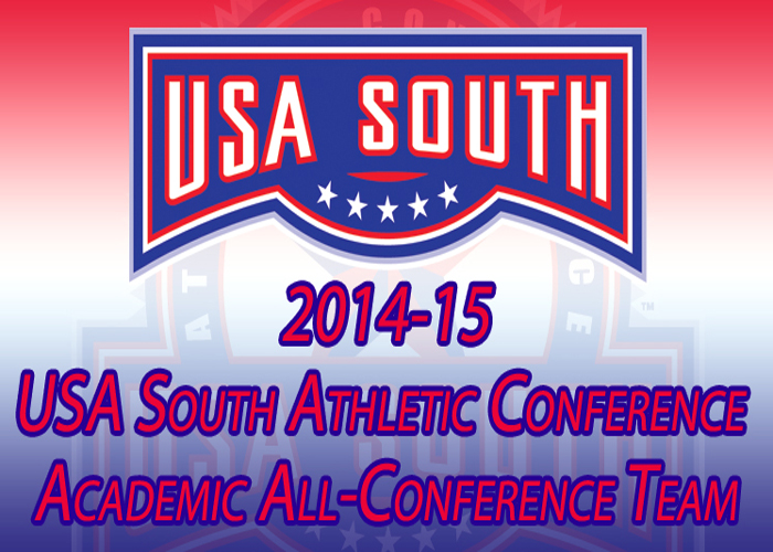 161 Hawks recognized on USA South Academic All-Conference Team