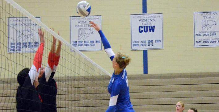Volleyball drops pair of matches at Red Hawk Invitational