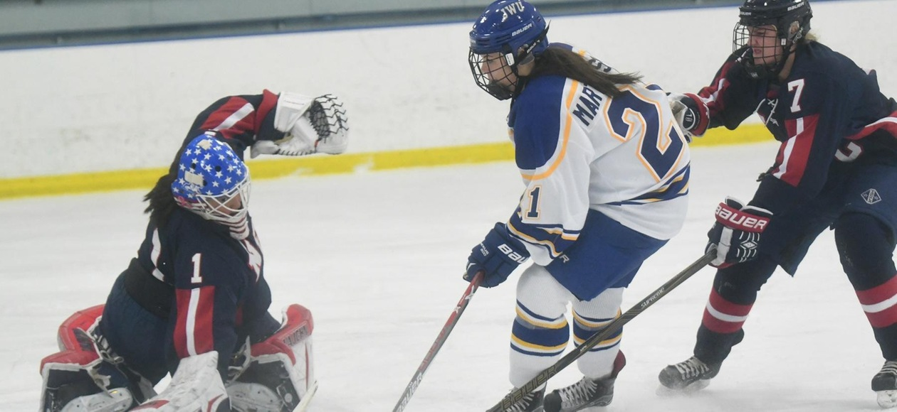 Women's Ice Hockey Drops 8-2 Decision to Sacred Heart