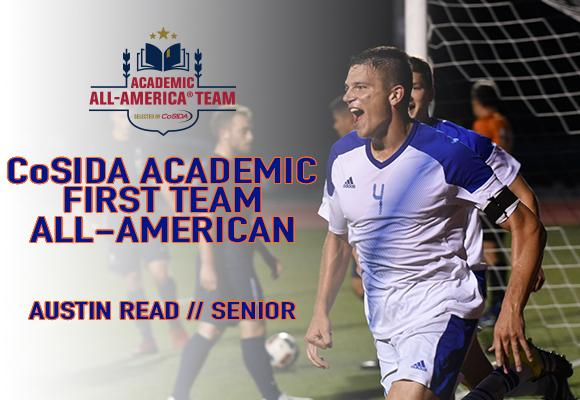Read Earns CoSIDA First Team Academic All-America Honors