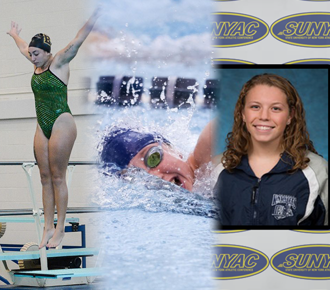 SUNYAC announces women's swimming and diving annual awards