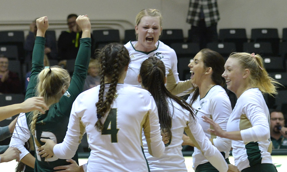 VOLLEYBALL BEATS NAU, OFF TO THE BEST CONFERENCE START IN SCHOOL HISTORY