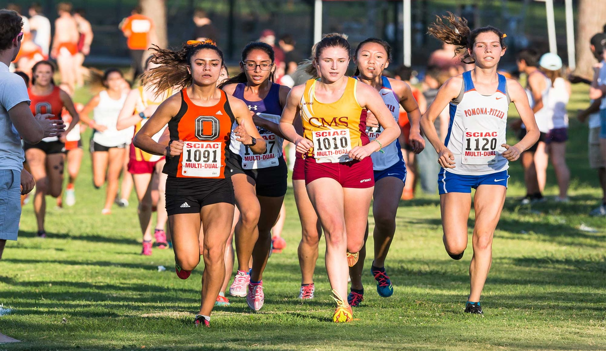 Valle, Oxy Women in 5th at West Regional