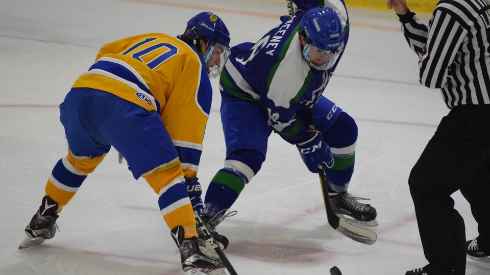 Seahawks hold serve on home ice; drop Golden Bears 3-2