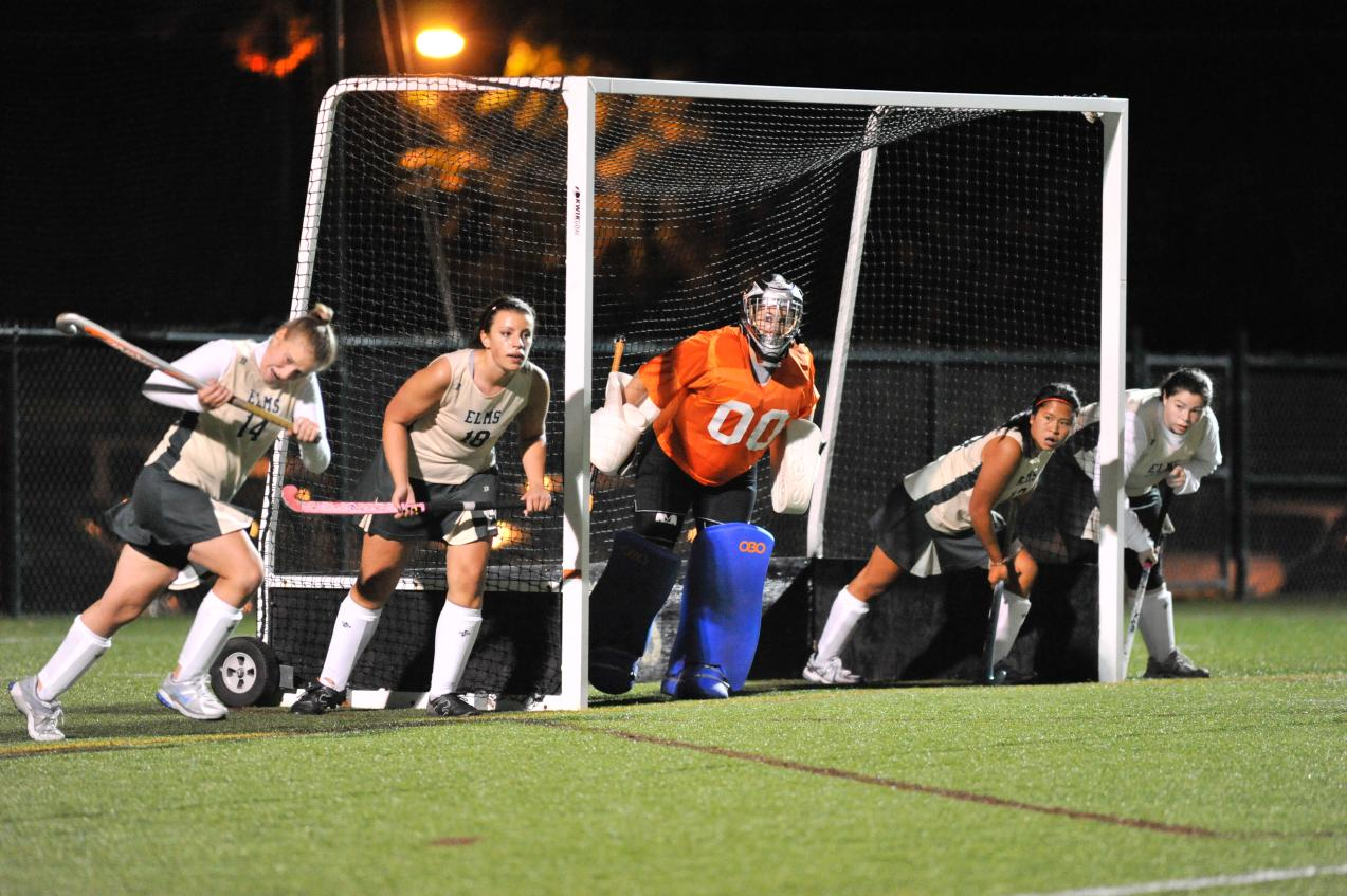 Field Hockey Outlasted by Rivier College, 2-1
