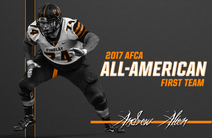 Alten Named First Team All-American by AFCA