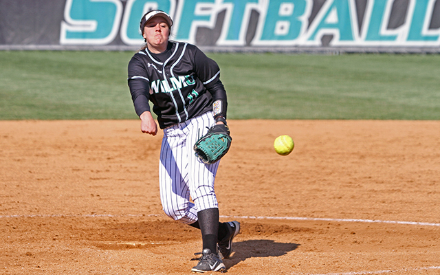 Timely Hits Back Whiteside as Wilmington Softball Sweeps CACC Doubleheader, 5-1 and 5-4, from Chestnut Hill