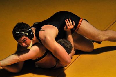 Storm wrestlers fall to Buena Vista