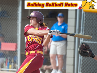 Bulldog Softball Begins Conference Road Swing This Week