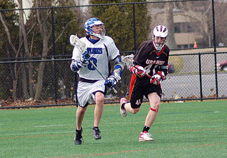 Late Run Helps No. 8 Haverford Halt Dips