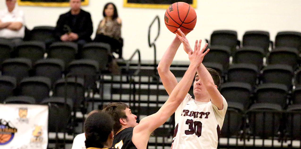 Trinity Men Defeat Colorado College in SCAC Quarterfinal Action