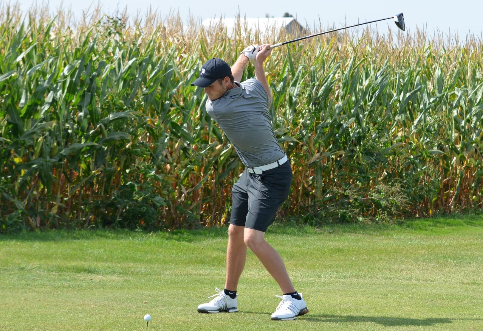 Miday Paces Men's Golf to Third Place Finish at the Jon P. Spiess Memorial
