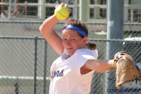 Schuh tosses no-hitter, Softball dominates Maranatha in doubleheader