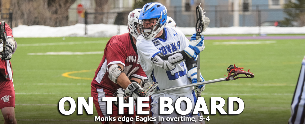 Monks Edge Eagles in OT, 5-4