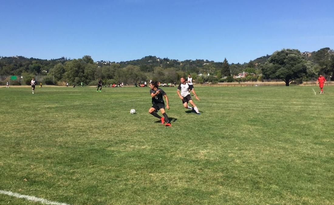 Men's Soccer Earns First Points With 1-1 Draw Versus Contra Costa