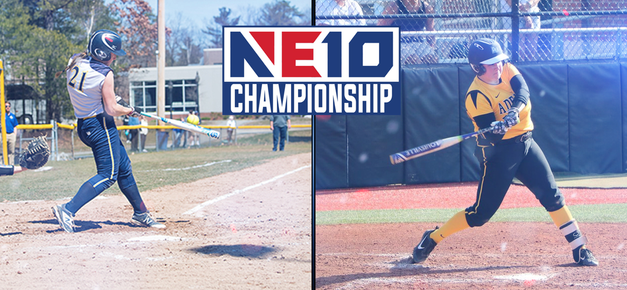 Top Seeds Adelphi and Merrimack Advance to Set Up Heavyweight Showdown in NE10 Softball Championship Final
