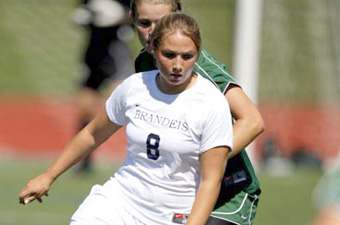 Mimi Theodore's two assists lead #23 Judges past Clark, 2-1