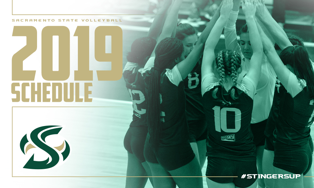 VOLLEYBALL RELEASES 2019 SCHEDULE, WILL HOST THE BIG SKY TOURNAMENT