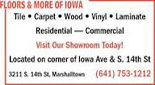 Floors & More of Iowa