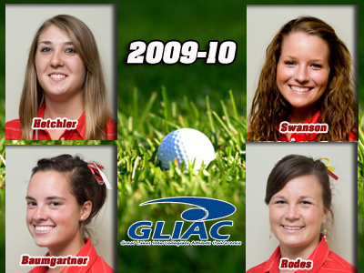 Ferris State Lands Four Individuals On All-GLIAC Women's Golf Teams