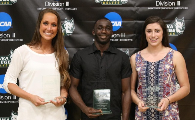 Award Winners (L to R) - Tally McDonald, Paulin Kolodja, and Katie Stuart