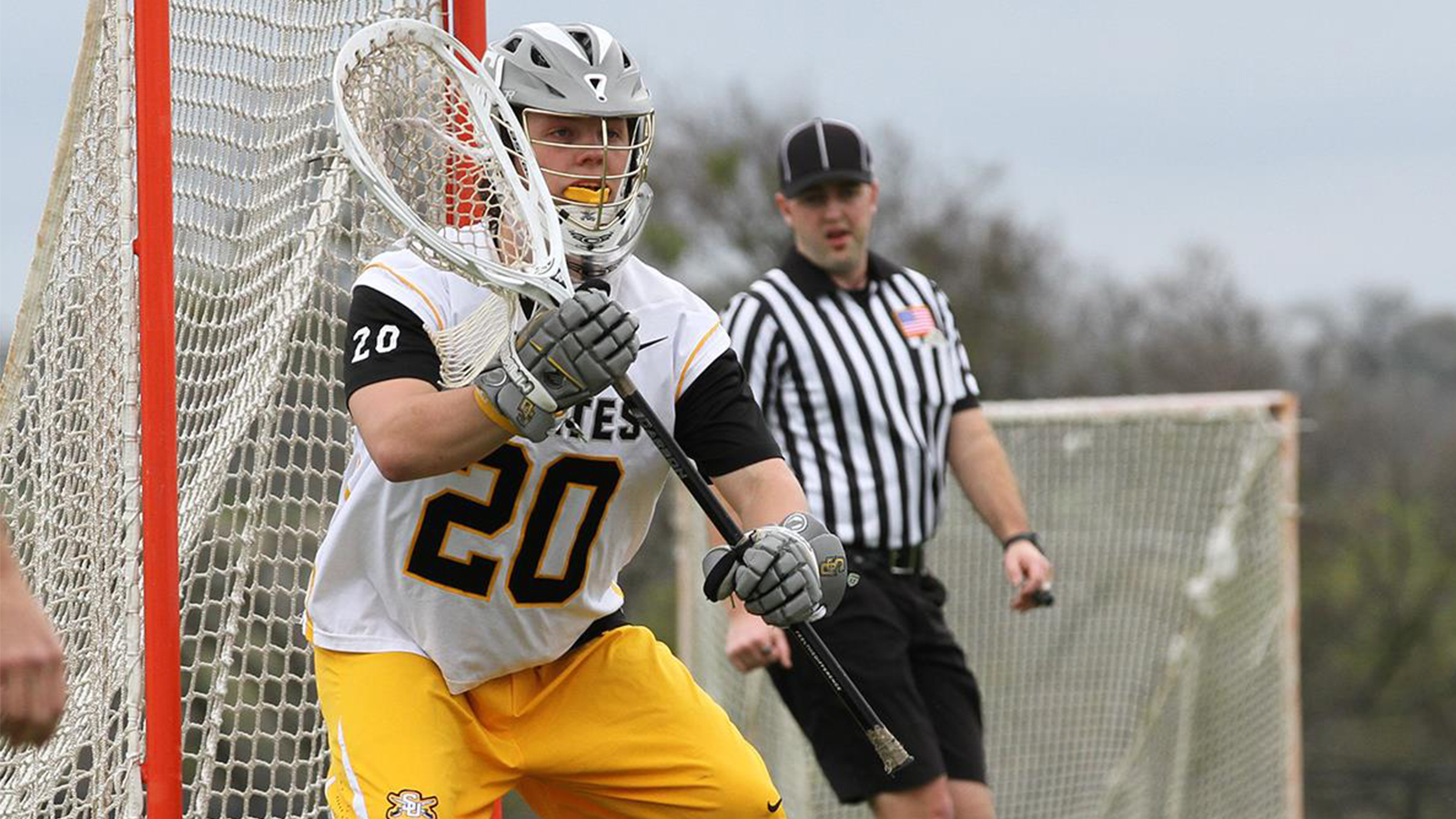 Men's Lax Holds Off Whitter in Thriller