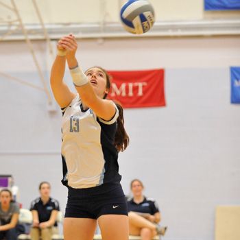 Volleyball Falls to Emerson in Five Sets