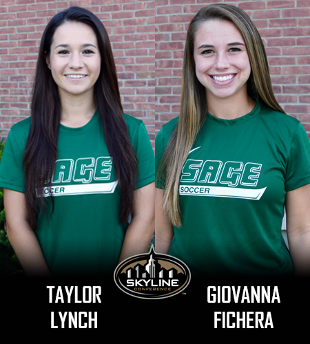 Lynch and Fichera Sweep Skyline Weekly Honors