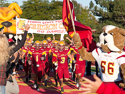 "Ferris State Football ""Kids Day"" This Saturday"