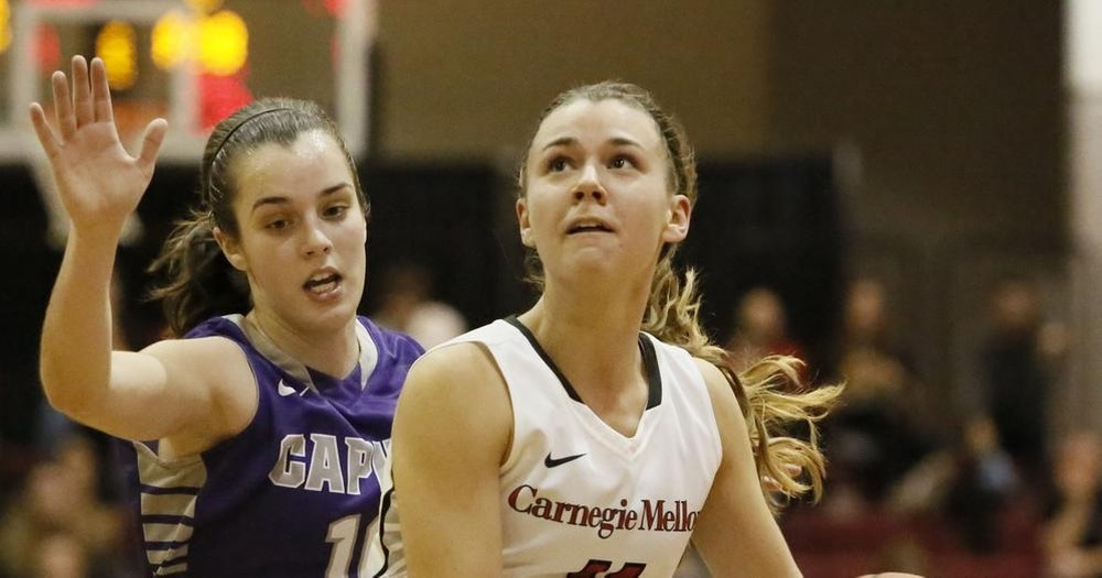 Mayberger's Career Afternoon Leads Tartans to Double Overtime Win