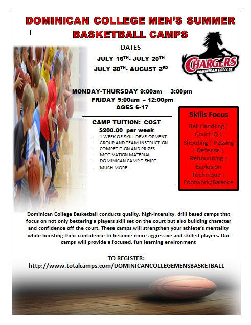 Dominican College Boys Summer Basketball Camp