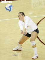 Walters Breaks School And Conference Dig Record As Santa Clara Upsets No. 15 San Diego, 3-1