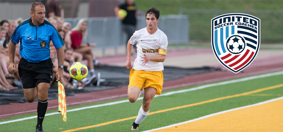Junior All-OAC forward Danny Ruple has been named a United Soccer Coaches Scholar All-American (Photo courtesy of Jesse Kucewicz)