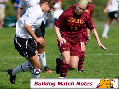 Ferris State Women's Soccer Notes - Matches 1-3