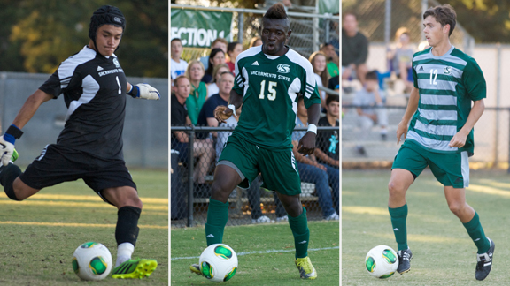 THREE MEN'S SOCCER PLAYERS EARN ALL-BIG WEST HONORS