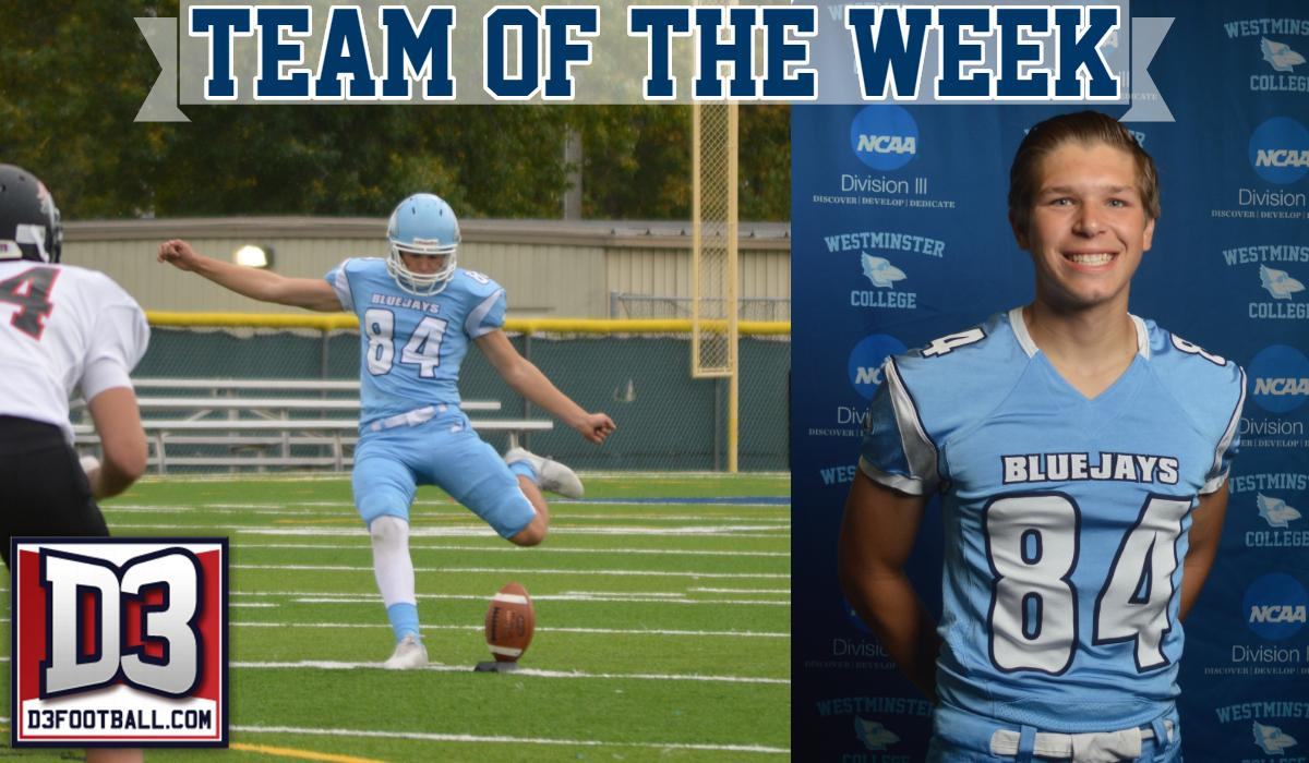 Branneky Named to D3football.com Team of the Week