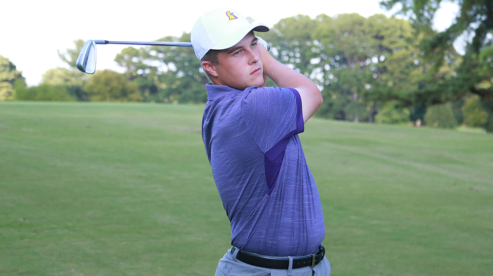 Golden Eagle men's golf in 13th after first day at Savannah Harbor