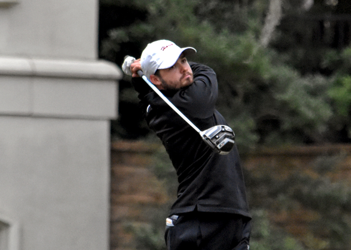 Junior Stephen Shephard finished fourth in the USA South Athletic Conference Tournament.