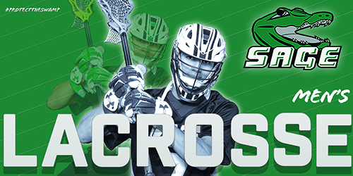 Sage Men's Lacrosse schedule takes another hit
