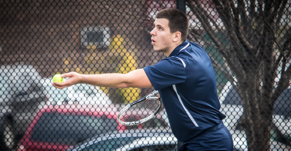 Men's Tennis Opens Season With 8-1 Triumph Over York