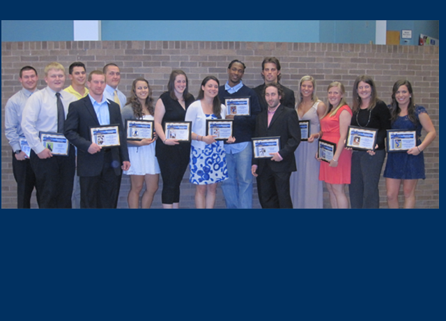 Seniors Honored At Annual Athletics Awards Banquet