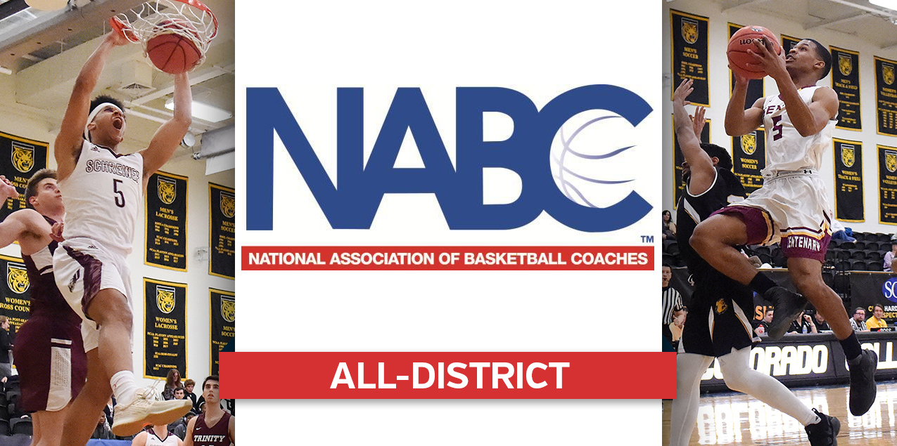 Schreiner's Gumbs, Centenary's Kirkendoll Named to NABC All-District Teams