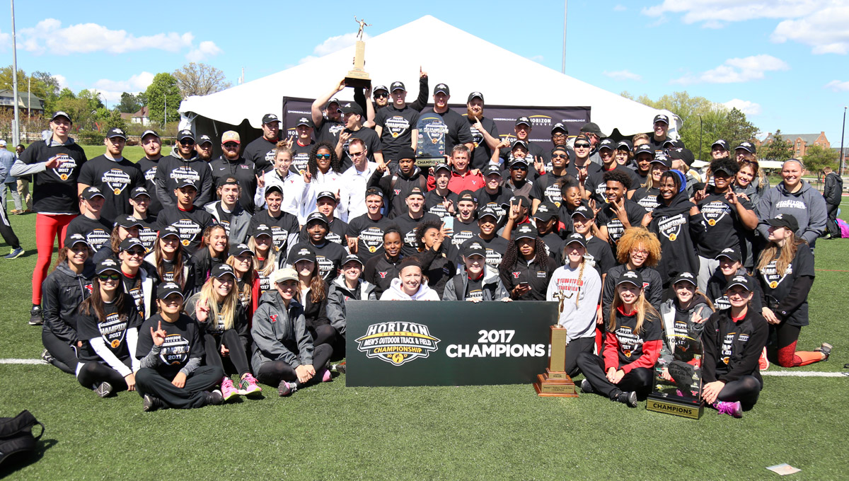 YSU won both the men's and women's Outdoor Horizon League Track and Field titles.