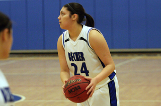 Slow Start Dooms Women's Basketball Versus AMC